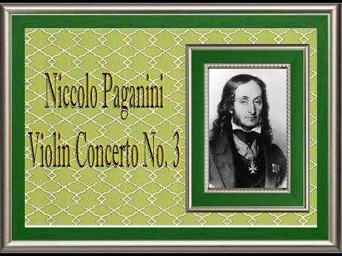 Paganini - Violin Concerto No. 3