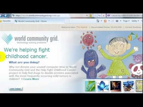 How World Community Grid Uses CPU Cycles - It Won