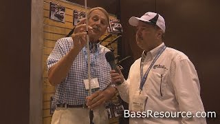 lews tp1 fishing rod with hank parker   bass fishing