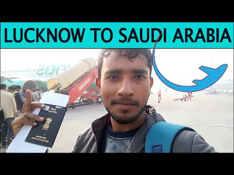Lucknow To Saudi Arabia By Flynas Airlines