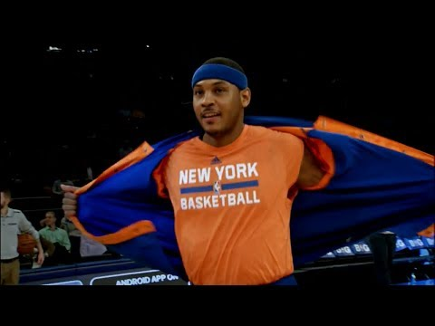 2014.01.09 - Carmelo Anthony Full Highlights vs Heat - 29 Pts, Duel With LeBron