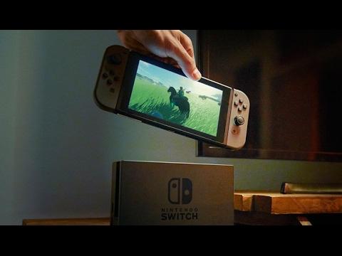 Обзор Nintendo Switch, Часть 1 - Распаковка и первые впечатления