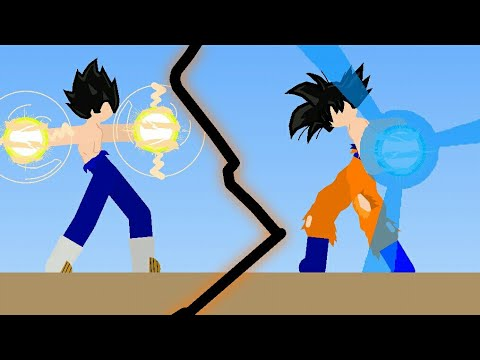 Stick-Nodes Goku vs Vegeta