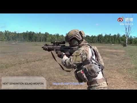 Испытания перспективных 6,8-мм систем стрелкового оружия NGSW в Силах специальных операций США