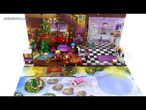 LEGO Friends 2014 Advent Calendar opened & reviewed! - YouTube