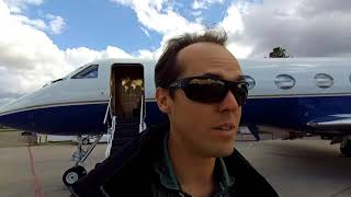 Late Night Trip To Van Nuys Then Teterboro Pilot Vlog 072