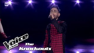 "Riccardo Giacomini ""Amor de mi vida"" - Knockouts - The Voice of Italy 2018"