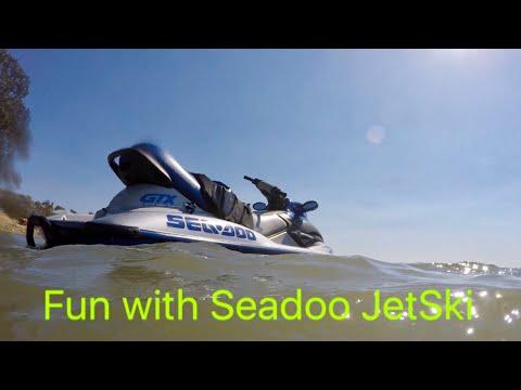 Riding Seadoo at Lake Camanche - Riding Jetski at the Lake August 2017