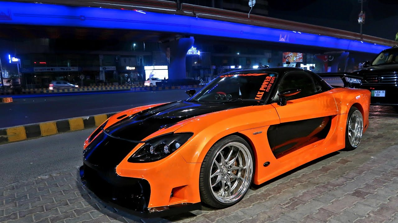 Pakistans Only Rx7 Veilside Ls Swap Max Power Motorsports Youtube