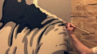 Роспись стен, интерьеров, потолков и портреты, картины маслом на заказ | Арт студия Bueno Arte(, 2017-07-20T06:57:39.000Z)