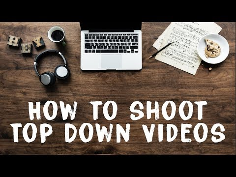How To Shoot TOP DOWN Videos - Easy DIY Overhead Camera Rig!