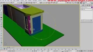 3DS MAX-  Mutfak Modelleme Bölüm 2