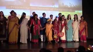 Bangladesh Fashion Show (Six Seasons) ULL International Week, Diversity Night 2015
