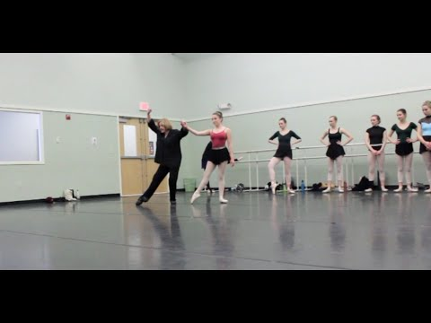 Maine State Ballet: Mrs Miele Pointe class