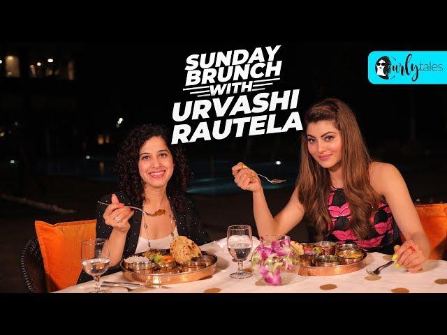 Sunday Brunch With Urvashi Rautela X Kamiya Jani | Curly Tales