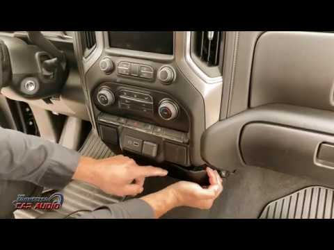 Remove Factory Stereo Chevy Silverado 2019 And Up