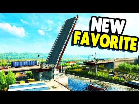 FAVORITE NEW DLC | Bigger Maps, LONGER Hauls | Euro Truck Simulator 2 Gameplay