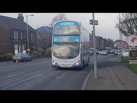 Route 88 First Glasgow Volvo B7tl Wright Eclipse Gemini 32588 Sf54 Ouj