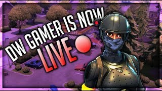 FORTNITE (LIVE) 1V1// FFA// 3K SUBS//USE CODE: DWGAMER200// ! Member !shop