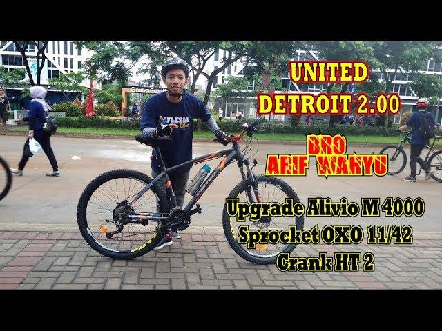 United Detroit 2 Rasa Xtrada 5 Murah Youtube