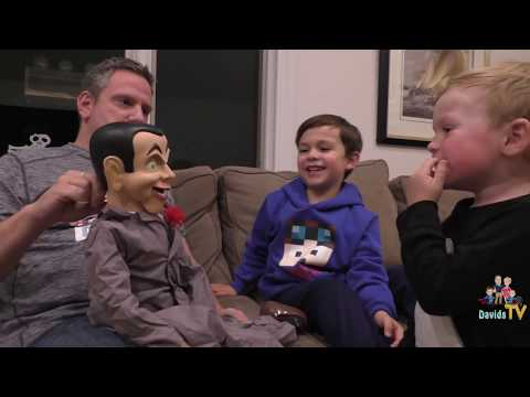 Slappy invades DavidsTV - Slappy Doll - Goosebumps - Slappy Ventriloquist Doll