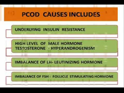 Cure of hormonal imbalances