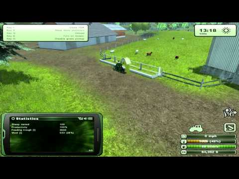Farming Simulator - How to farm sheep, tutorial
