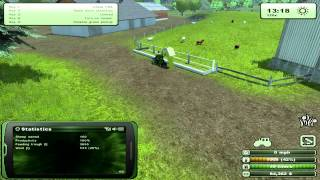 Farming Simulator 2013 - How to farm sheep, tutorial