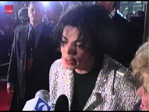 Michael Jackson Elizabeth Taylor Red Carpet Interview
