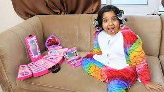 شفا تلعب العاب  مكياج !!  Shfa  makeup  toys girl