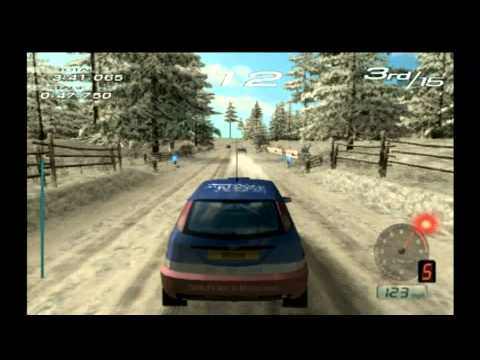Classic Game Room - SEGA RALLY 2006 for PS2 review
