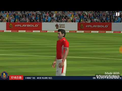 RCB Epic Cricket -The official game  66 MB  High Graphics Best cricket game ever.