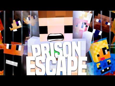 PRISON ESCAPE ONLINE MET ANDEREN SPELEN In MINECRAFT!!