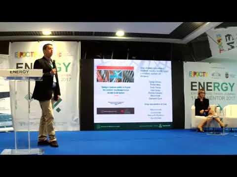 Prezantimi i Platformës LEDS & Qendrës së Konferencave së REC HO në Energy Expo & Forum 2017