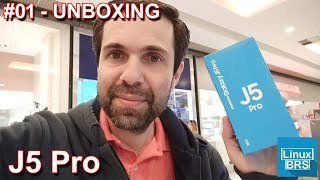 Samsung Galaxy J5 Pro - UNBOXING