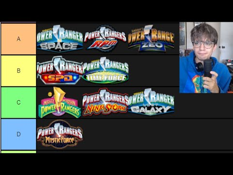 Power Rangers Tier List *best to worst*