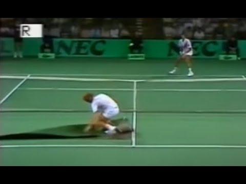 Les moments cultes du Tennis #9 (morpion, trace, pleure)