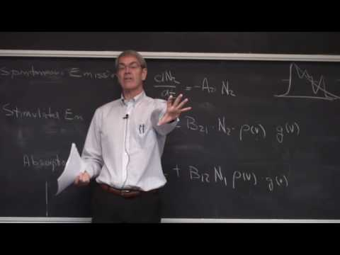 Lasers & Optoelectronics Lecture 16: Laser Gain Equations (Cornell ECE4300 Fall 2016)