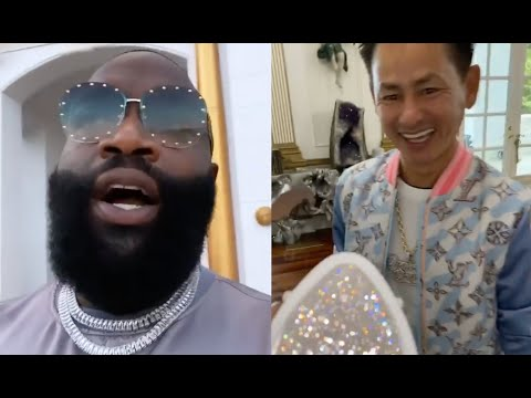 Rick Ross Refuses To Drop $50K On A Diamond Face Mask From Johnny Dang