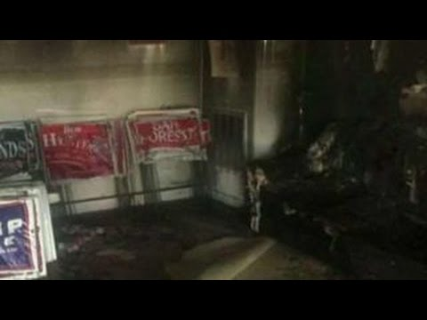 Authorities: GOP office in North Carolina 'firebombed'