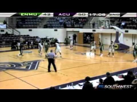Men's Basketball: Eastern New Mexico @ Abilene Christian  (Feb. 11, 2012)