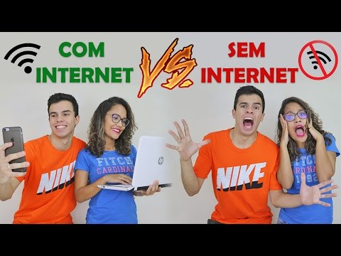 VIDA COM INTERNET VS VIDA SEM INTERNET - KIDS FUN