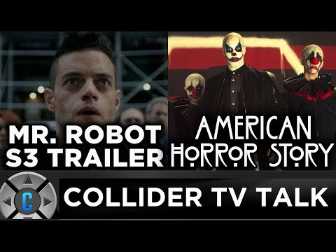Mr. Robot Season 3 Trailer, American Horror Story: Cult Preview