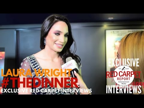 "Laura Wright interviewed at ""The Dinner"" Premiere #IndieFilm"