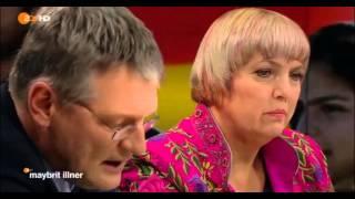 ✪✪ Claudia Roth, CDU - VS - Jörg Meuthen (AfD) - 28.1.2016 ✪✪