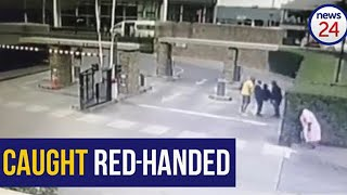 WATCH   Stop right there! Security company catches man accused of stealing cheese