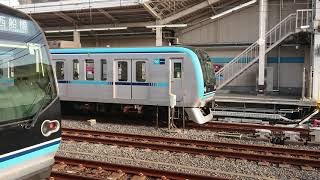 東京メトロ東西線15000系15008編成 各駅停車中野行き 葛西駅発車
