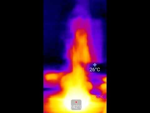 Seek Thermal   サーモグラフィテスト