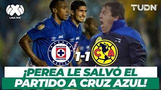 ¡Qué partido! Amaranto Perea le salvó el clásico a la máquina | CruzAzul vs América - AP2013 | TUDN
