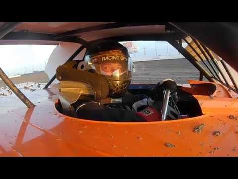 In-car video from the 4CF IMCA Sportmod Driver: Dustin Schoonover Track: Longdale Speedway Location: Longdale, OK Spec: 3/8 Mile Dirt Oval Surface: Clay. - dirt track racing video image